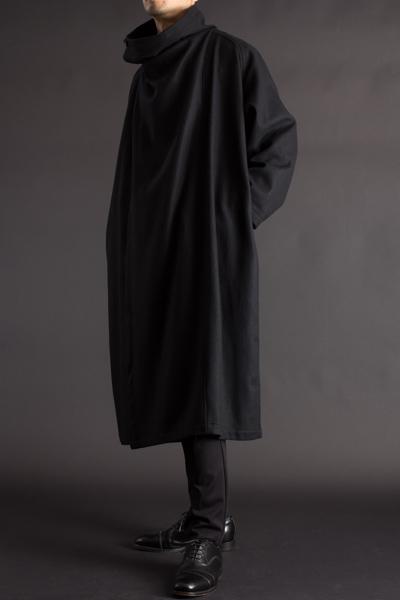 袖付マント メルトンウール 125