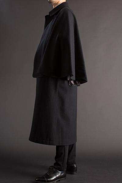 とんびコート メルトンウール 125